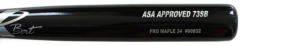 Pro Stock Maple ASA Approved Softball 73
