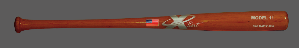 Baseball Pro Maple Wood  Bat Model 11 33.5 (Cherry)
