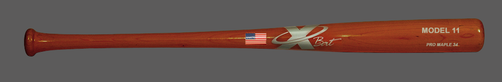 Baseball Pro Maple Wood Bat Model 11 34 (Cherry)