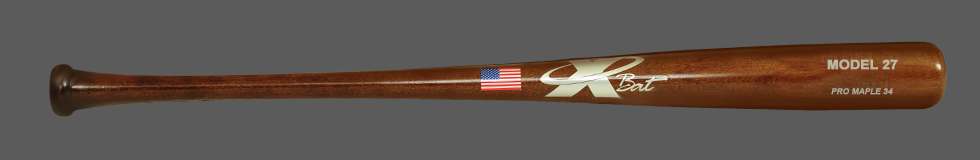 Baseball Pro Maple Wood Bat Model 27 34 (Walnut)