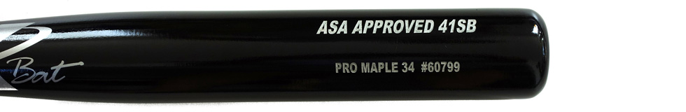 Pro Stock Maple ASA Approved Softball 41