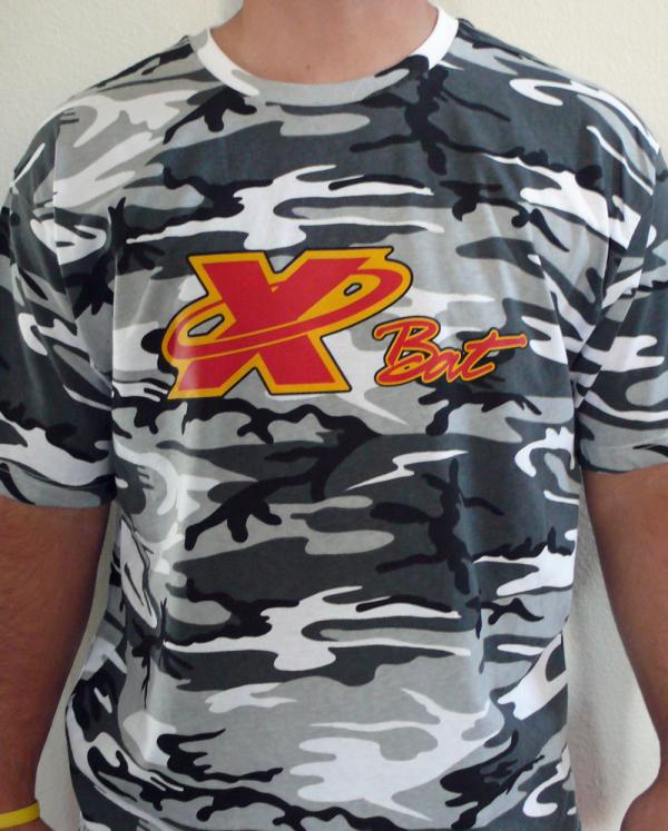 X Bat Pro Series Camo T-shirt