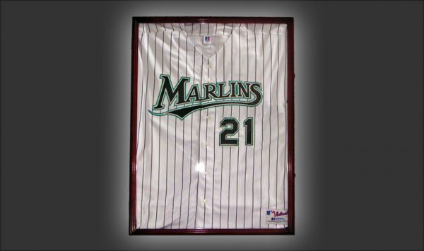 Baseball Jersey Display Case