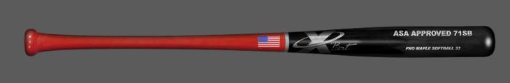 Softball ASA 71 34/29.5 Red/Black