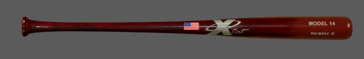 Baseball Pro Maple Wood Bat Model 14 (Mahogany)
