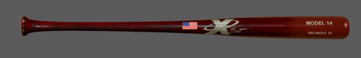Baseball Pro Maple Wood Bat Model 14 (Mahogany)