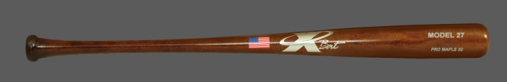 Baseball Pro Maple Wood Bat Model 27 (Walnut)