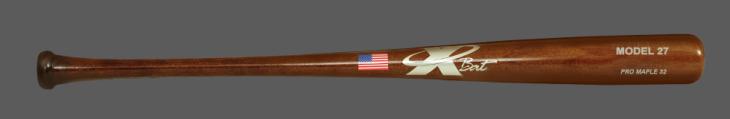 Baseball Pro Maple Wood Bat Model 27 (Walnut)