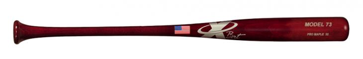 Baseball Pro Maple Wood Bat Model 73 (Red Mahogany)