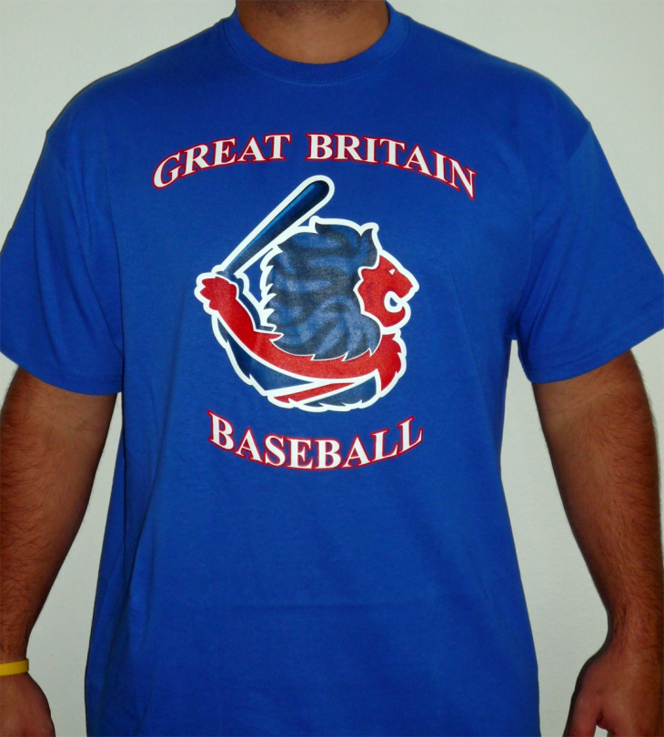 Team Great Britain Player's t-shirt