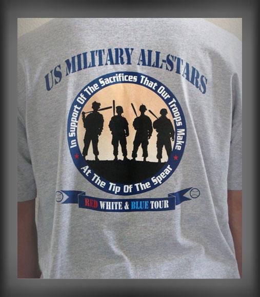 US Military AllStarsShirt