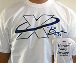 X Bats T-Shirt (ShortSleeve)