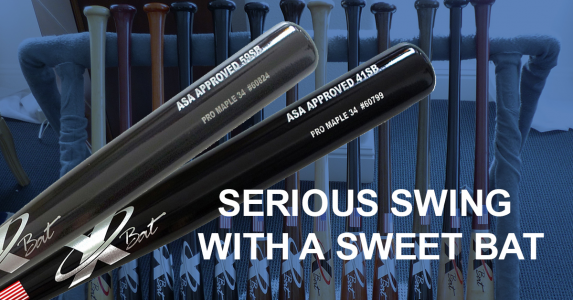 Serious Softball Requires a Serious Swing with a Sweet Bat