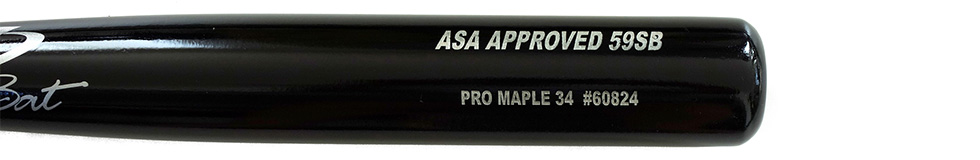 Pro Stock Maple ASA Approved Softball 59