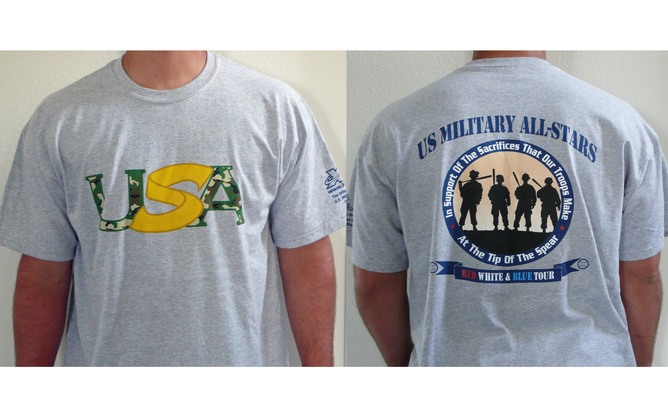 US Military All Stars Shirt
