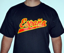 Spanish National Team Player's t-shirt